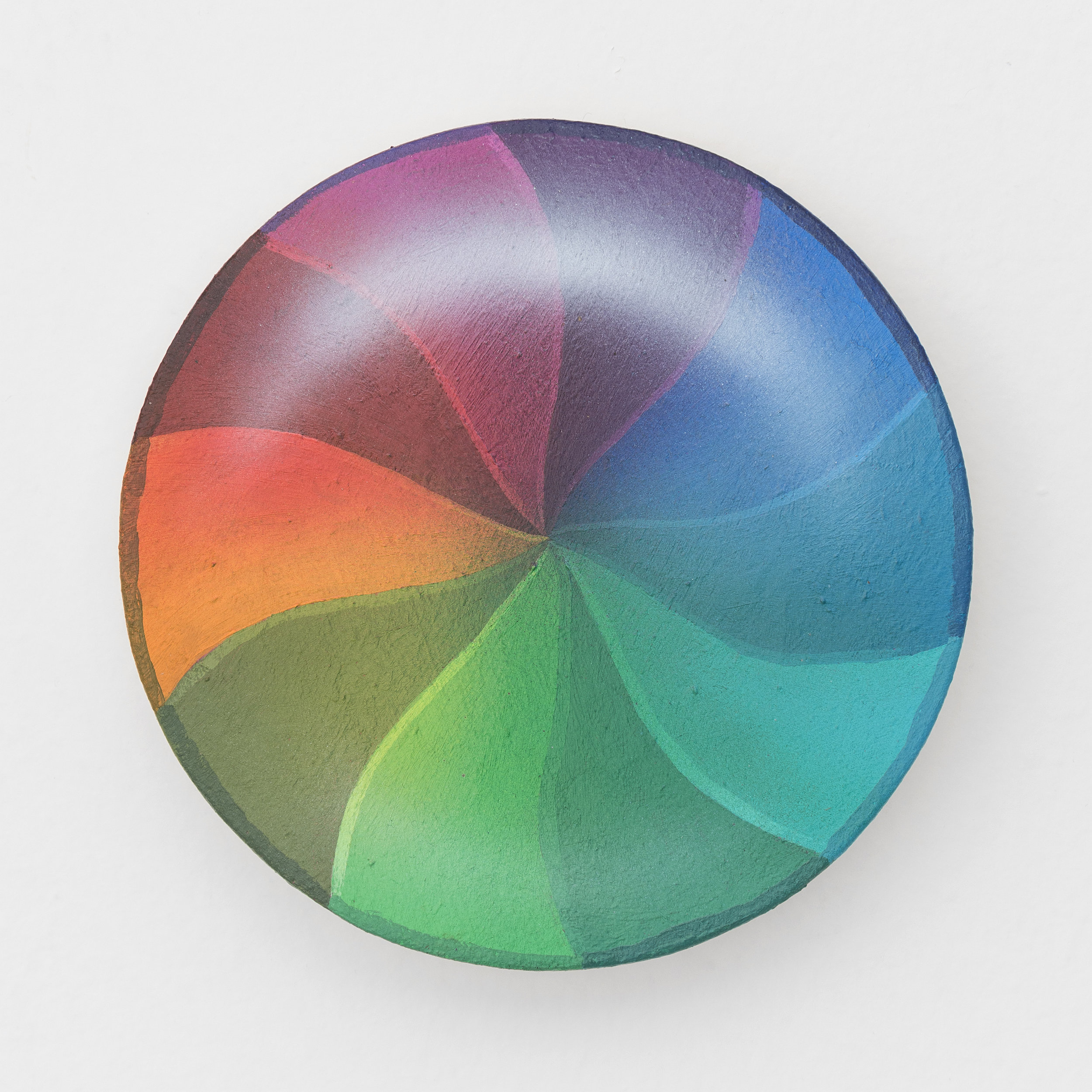 Spinning Wheel of Death (Color Solid)