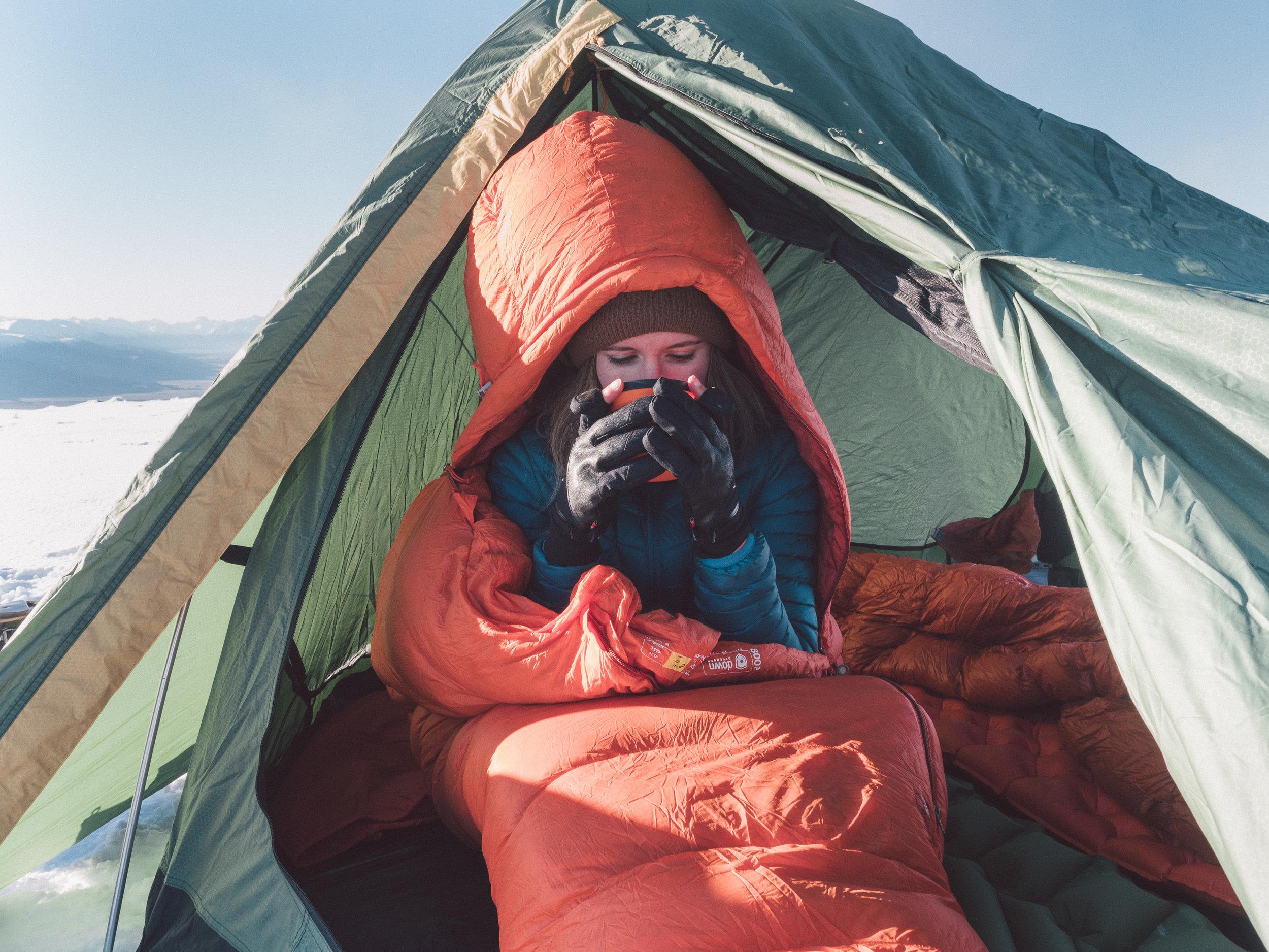 Winter Camping New Zealand