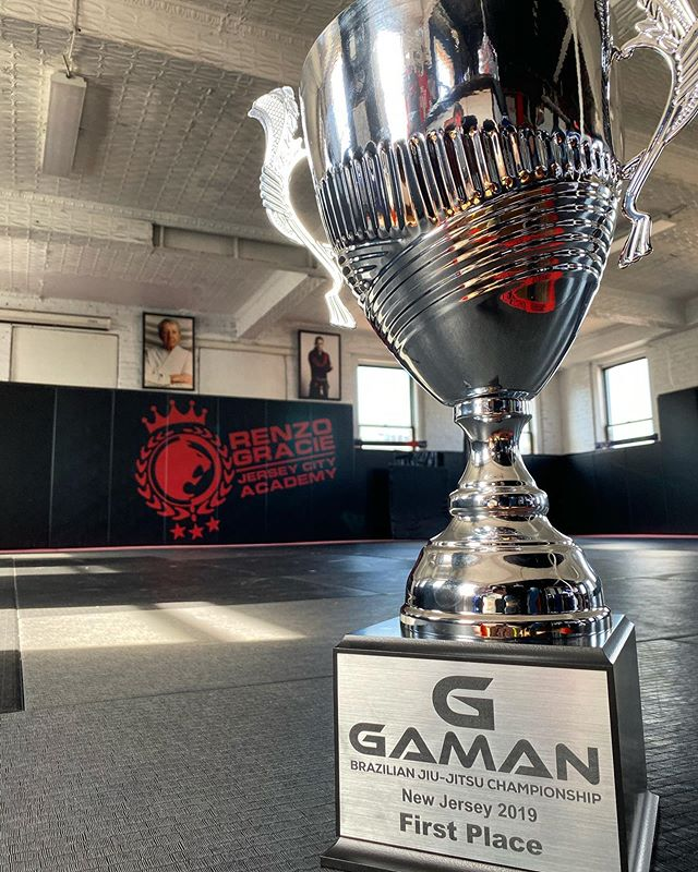 FIRST PLACE AT THE @GAMANBJJ CHAMPIONSHIPS!!! #RenzoGracieJerseyCity #CompetitionTeam #TeamRGJC #GamanBJJ