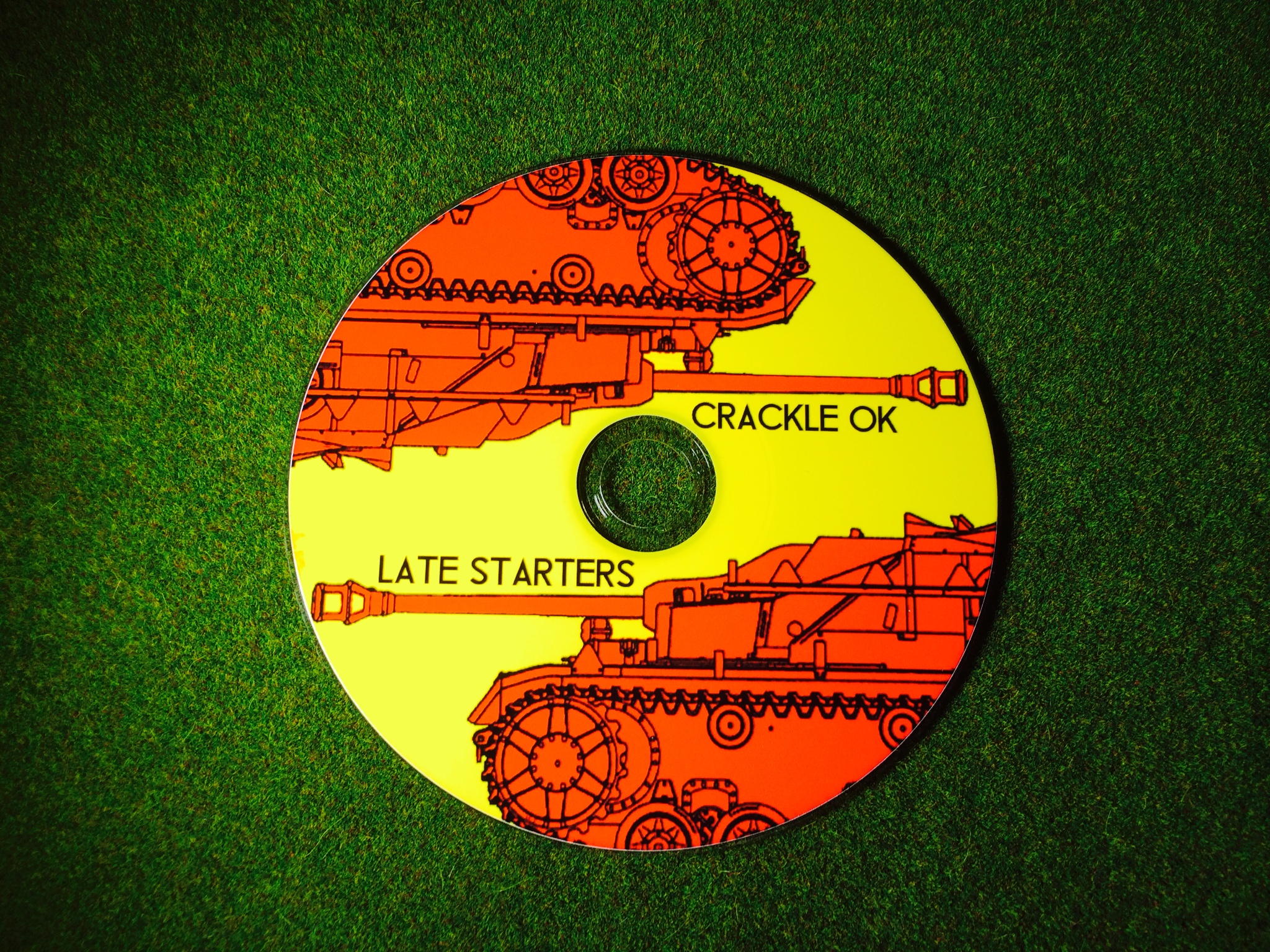 Late Starters - Crackle OK