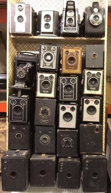 Brownie Box Cameras.