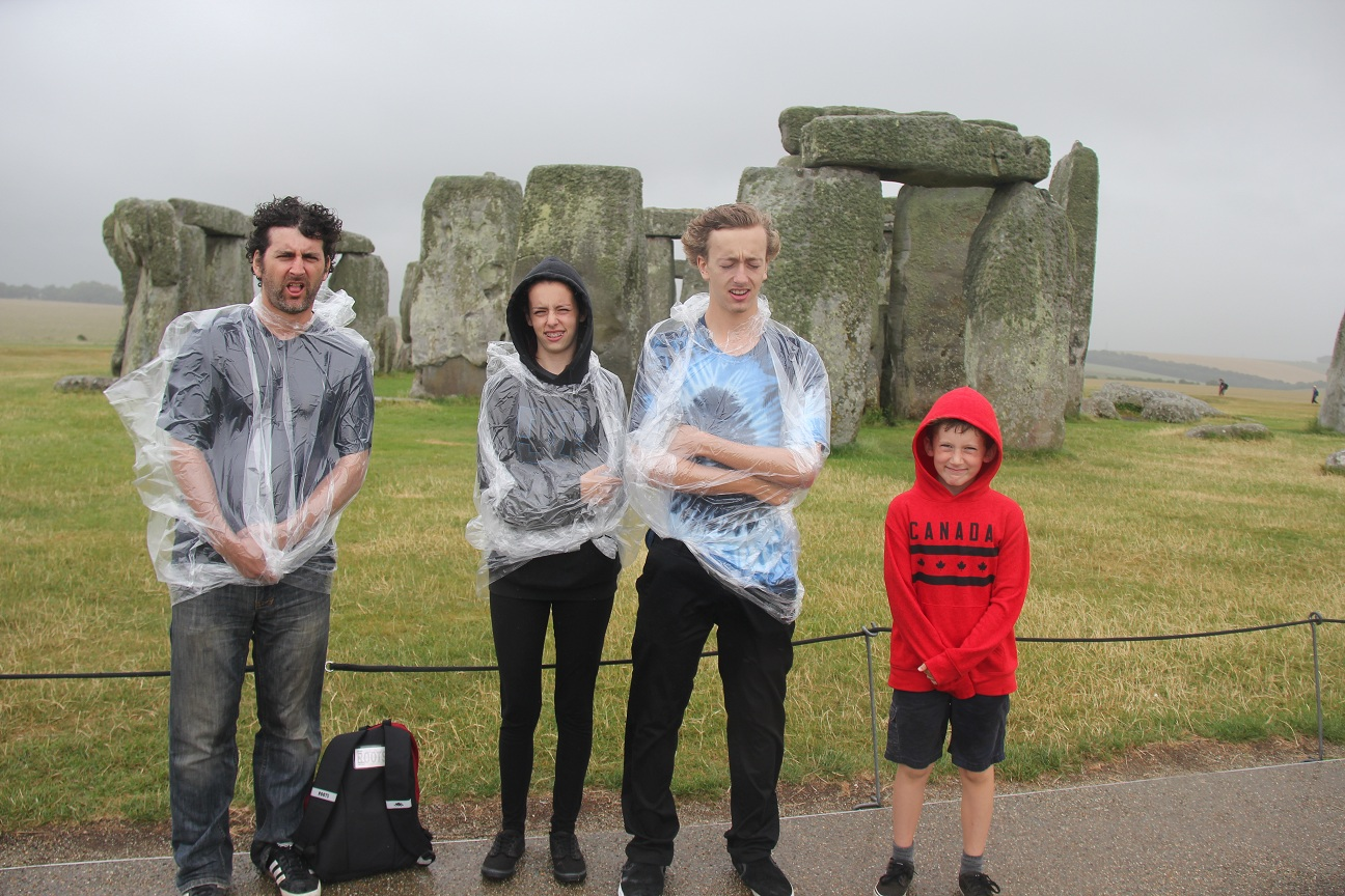 As you can see my own family simply adores visiting sites of historical importance.