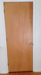 """Yes it's a door but does it convey """"Welcome""""? NO"""