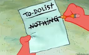 My summer plan.