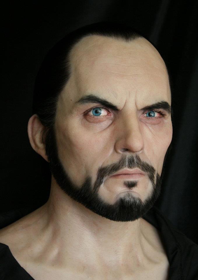 Terence Stamp as General Zod - As he appeared on Awesome Eyebrow magazine circa 1980