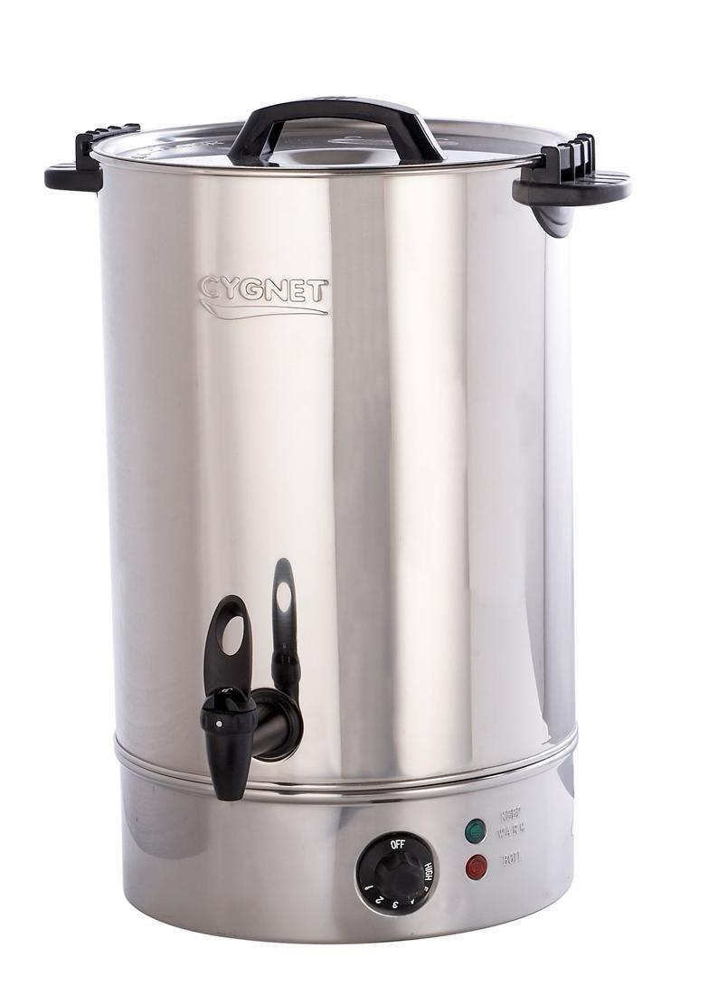 The tea urn - the British symbol of welcome