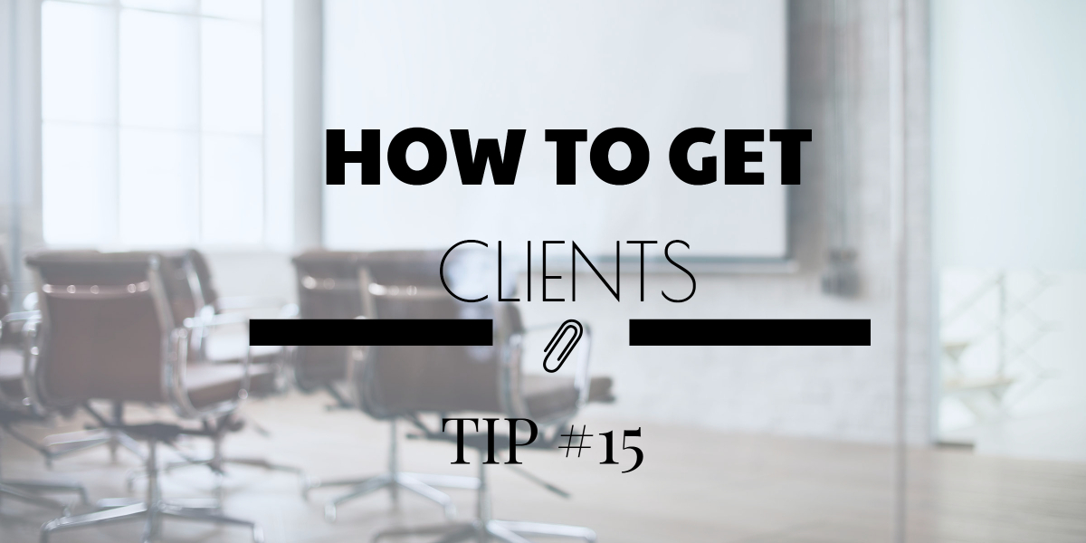 How to get more cclients