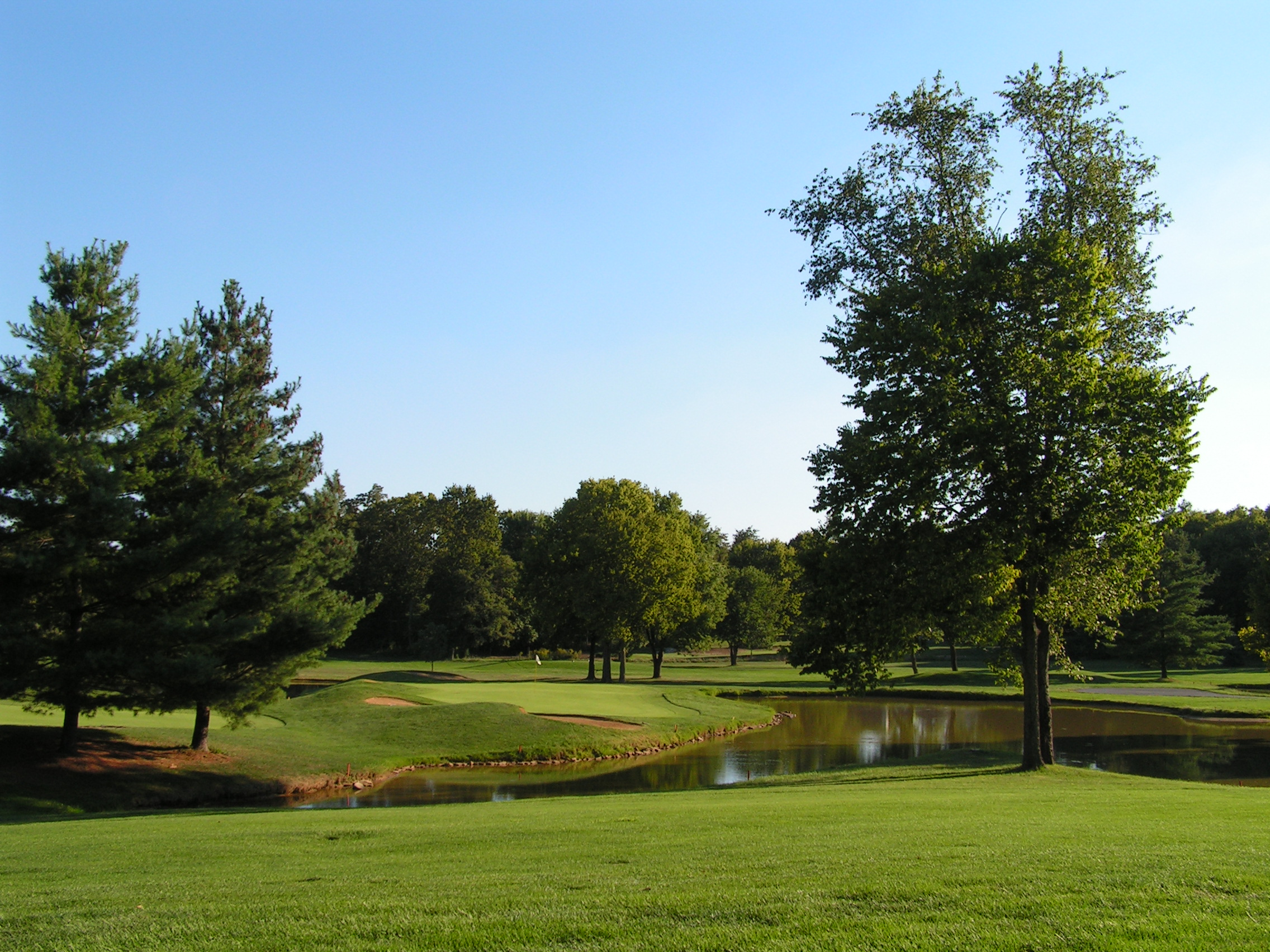 Pond along #11 and #12