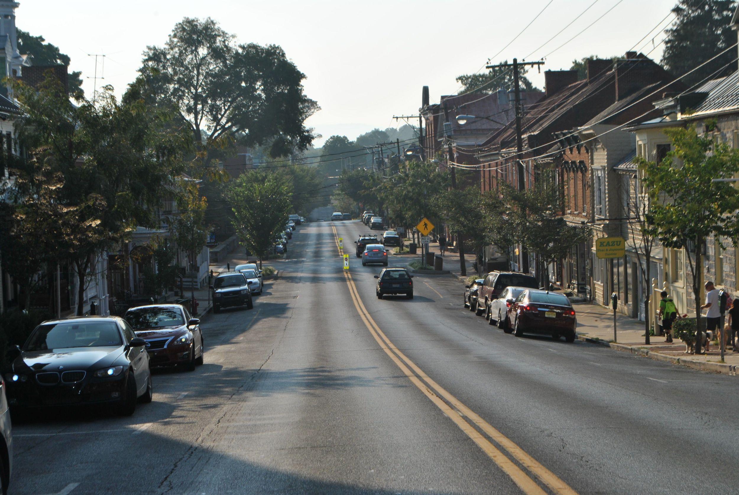 German Street heading East