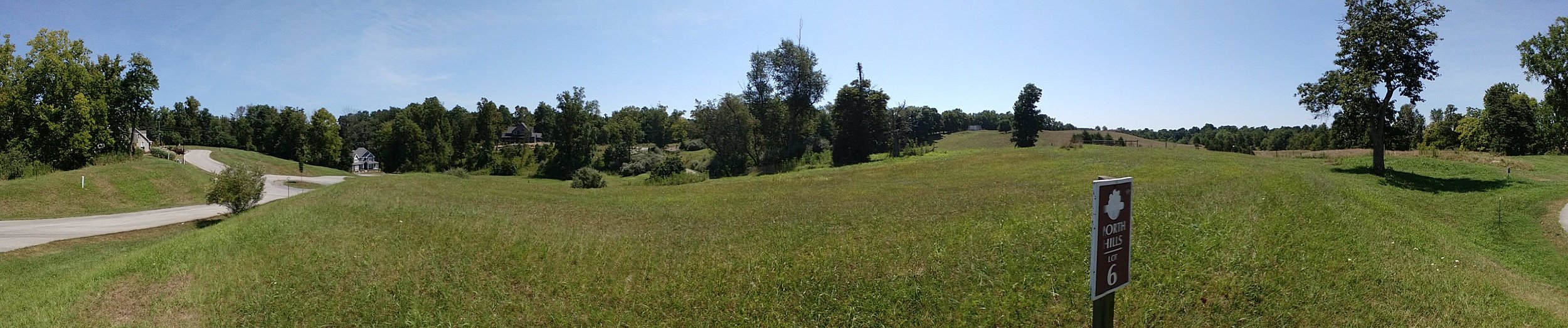 Panorama from Briar Mountain Drive