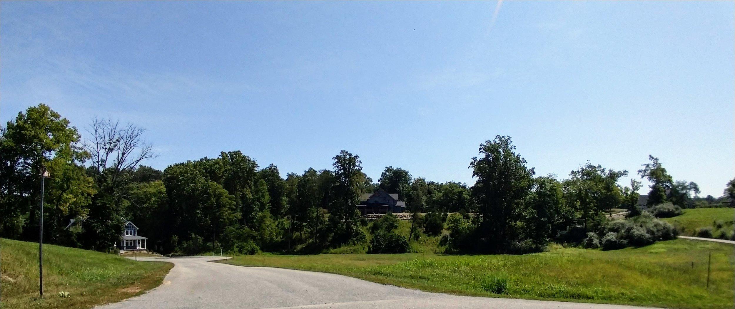 Down North Ridgemont Drive toward #17