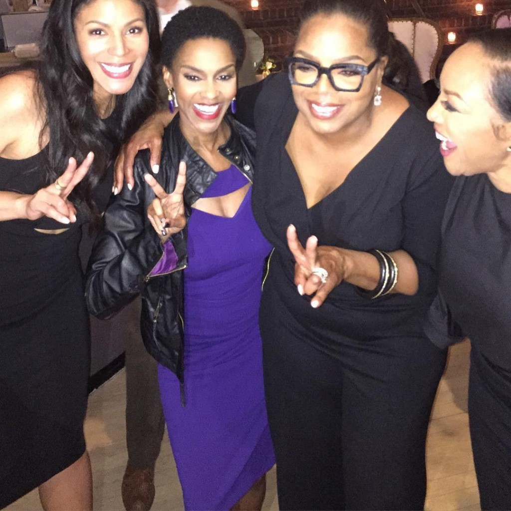 Tribeca Film Festival Reception with Merle Dandridge, Oprah and Lynn Whitfield