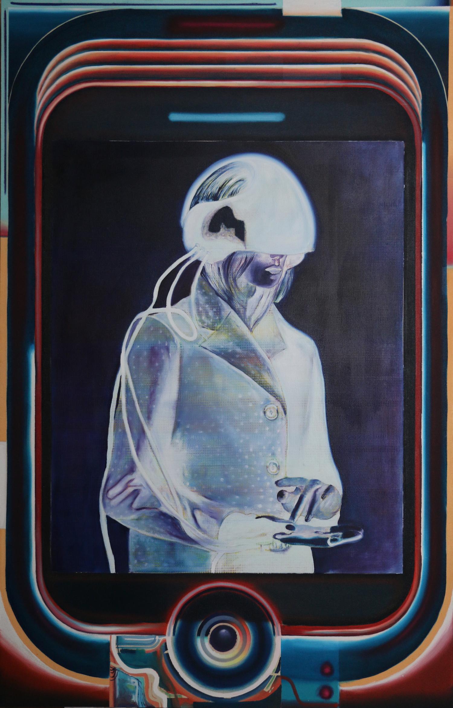 I.ME.II  - Oil on canvas - 90cm x 145cm - 2017