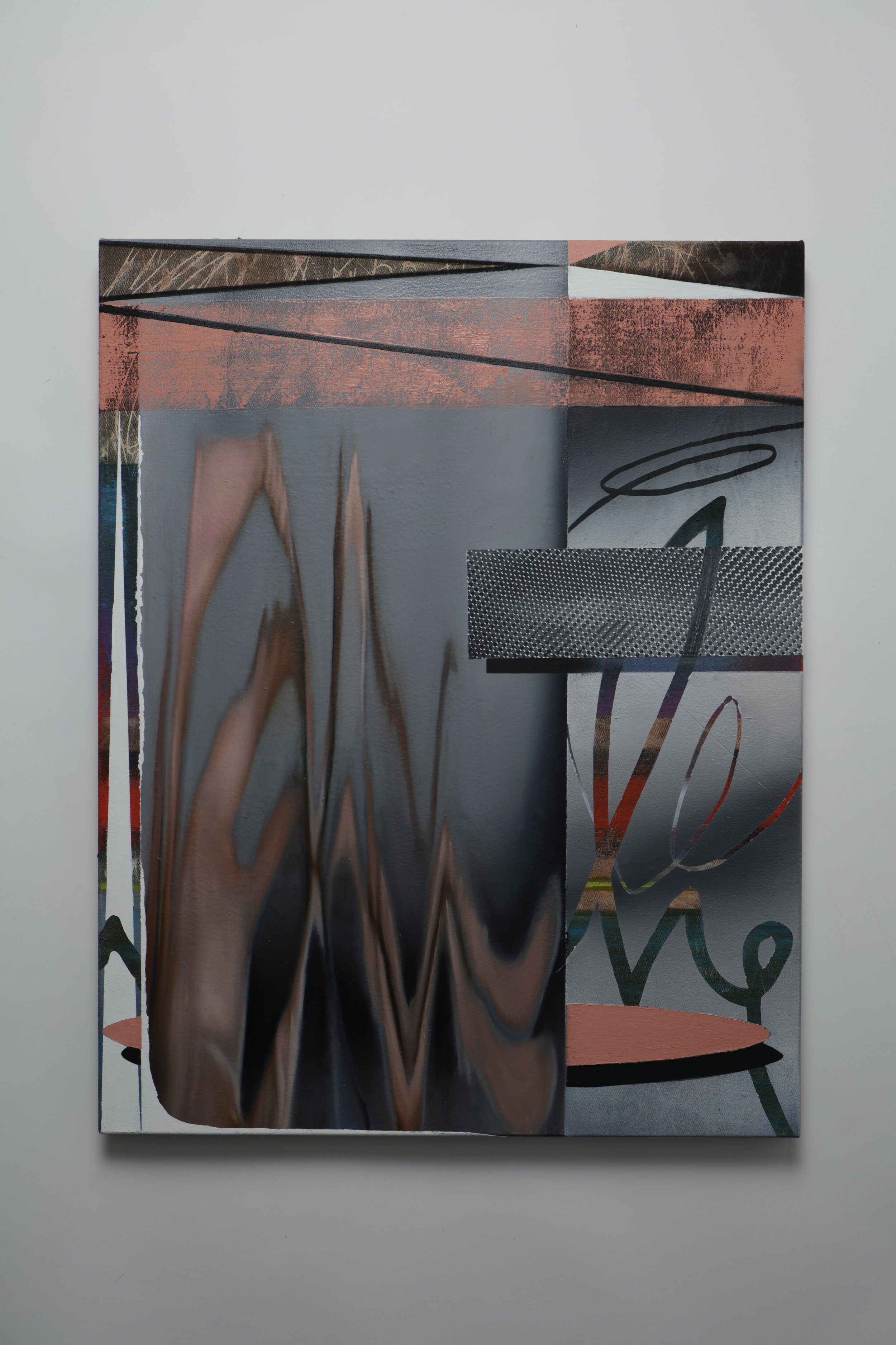 Spiralized -  Oil on canvas - 55cm x 70cm - 2018