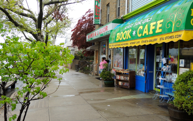 Everything Goes Book Cafe 208 Bay Street