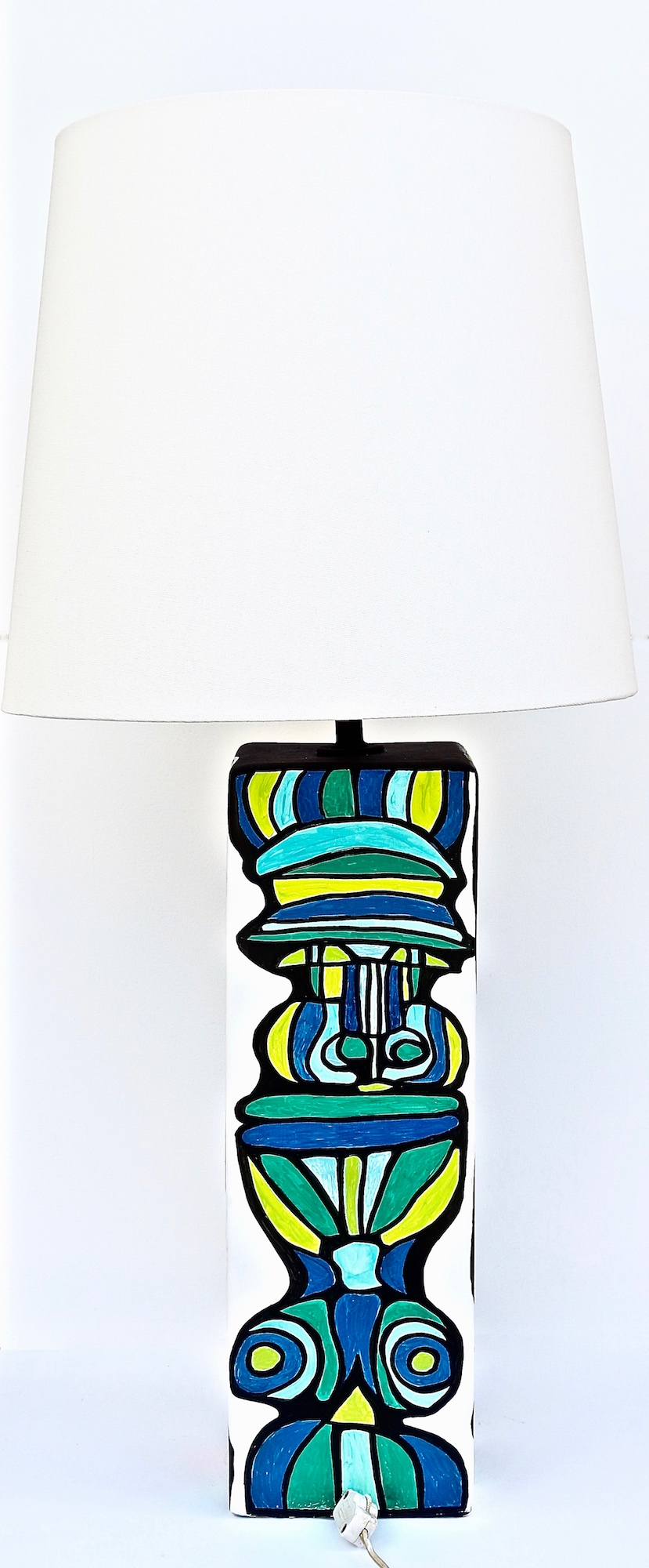 CUBIST LAMP SIDE ONE
