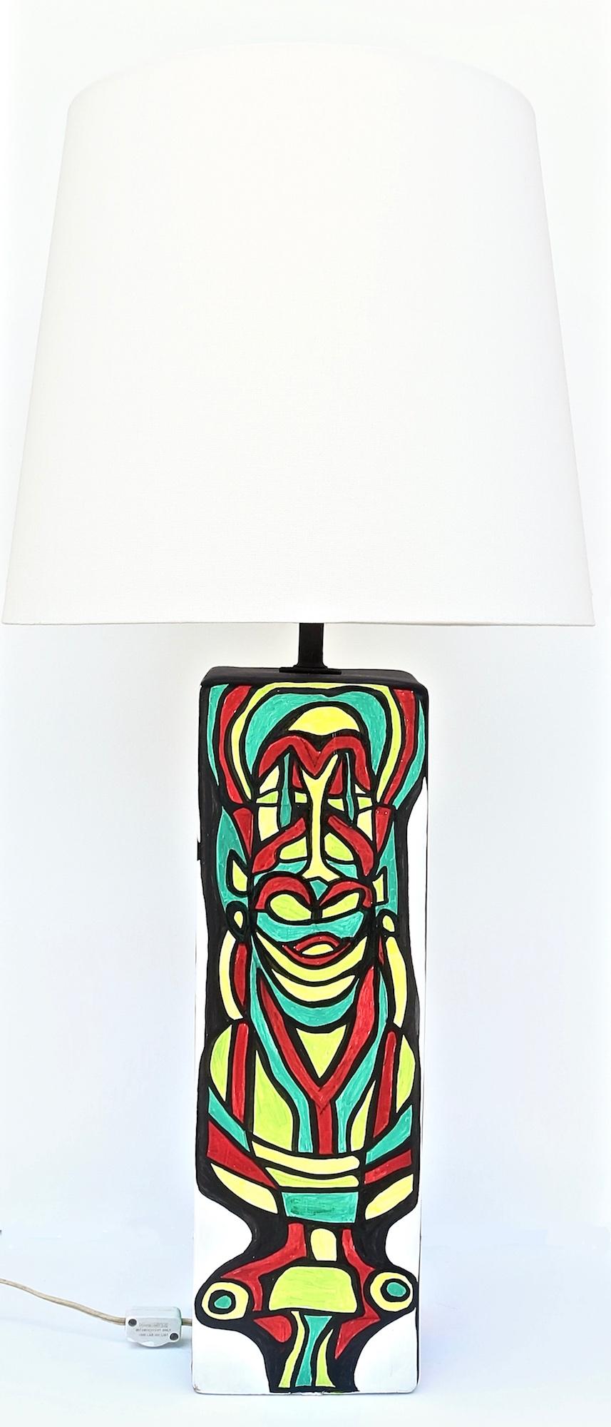 CUBIST LAMP SIDE THREE