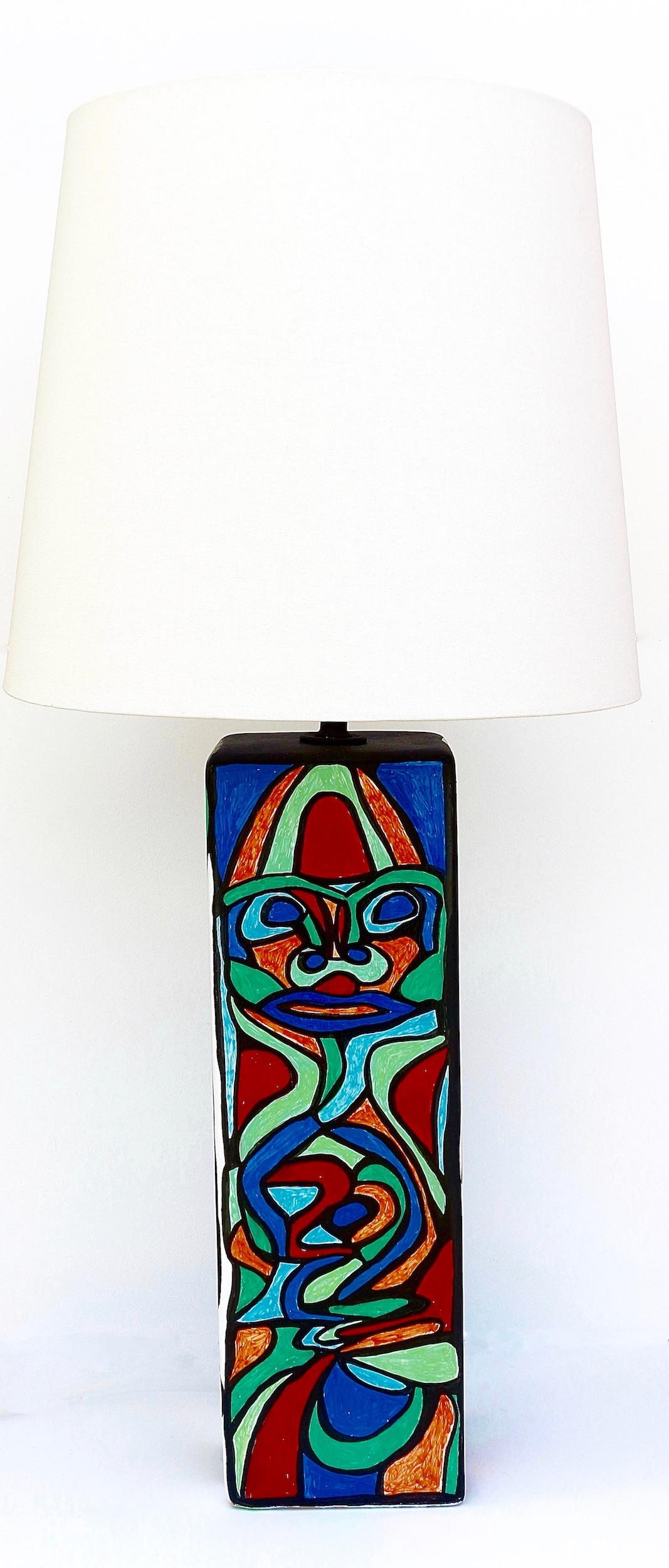 CUBIST LAMP SIDE FOUR
