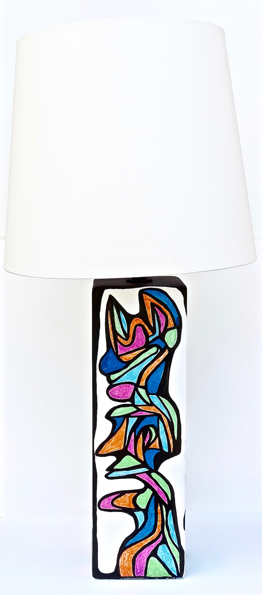 CUBIST LAMP SIDE TWO