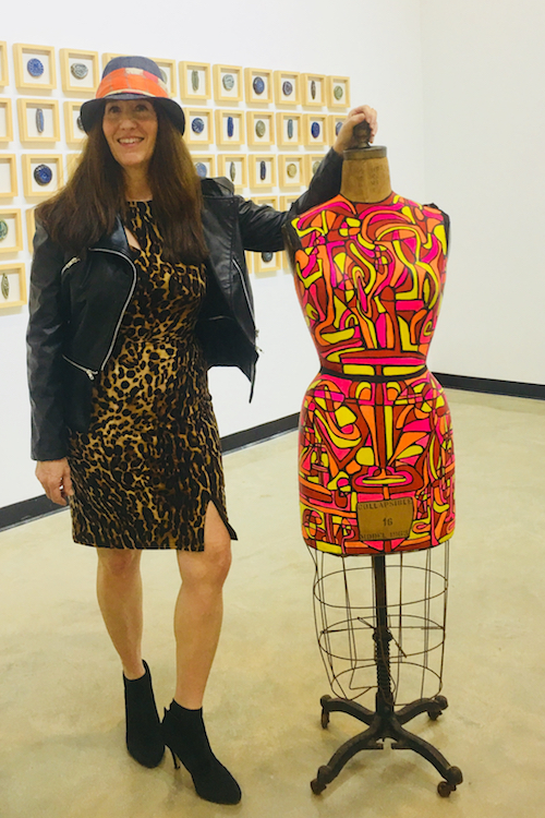 Jill with Luna Displaying - AT POP UP | MEET UP AT THE FRANK CONTEMPORARY GALLERYPEMBROKE PINES, FL