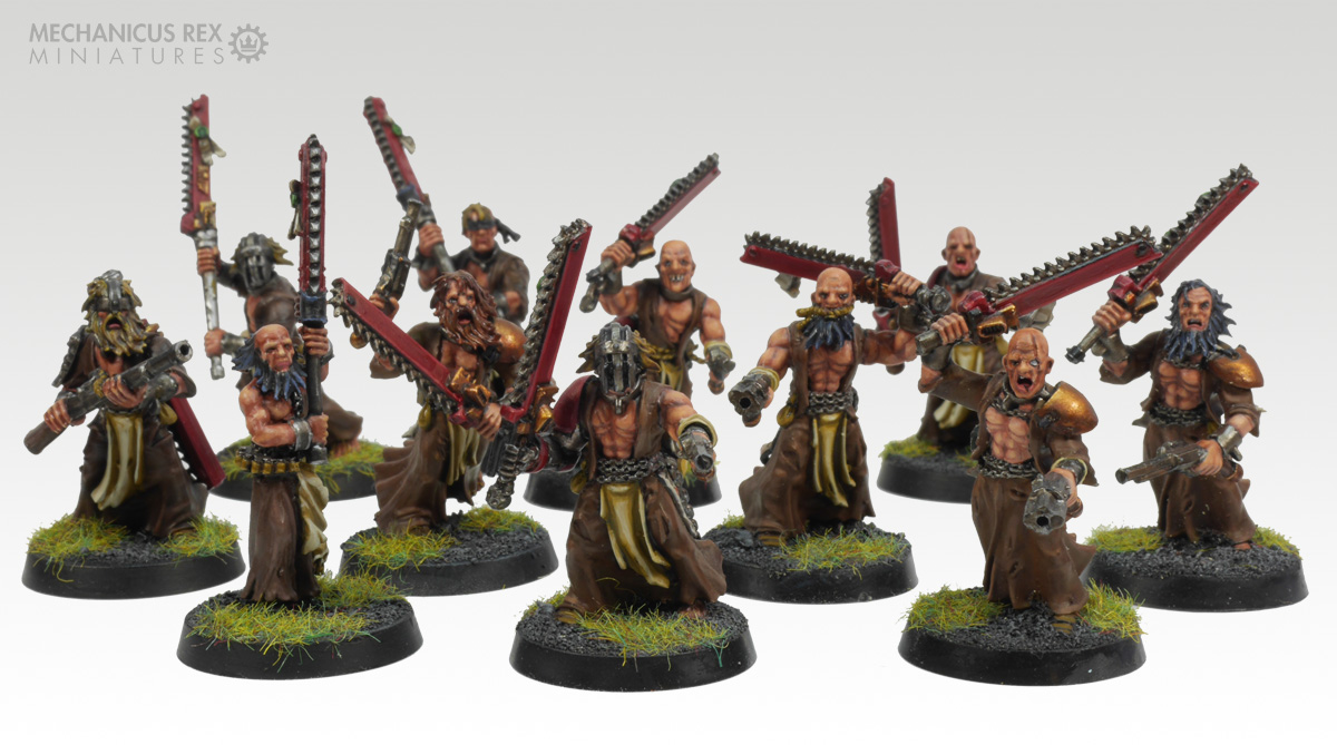 Mob of Witch Hunter Zealots