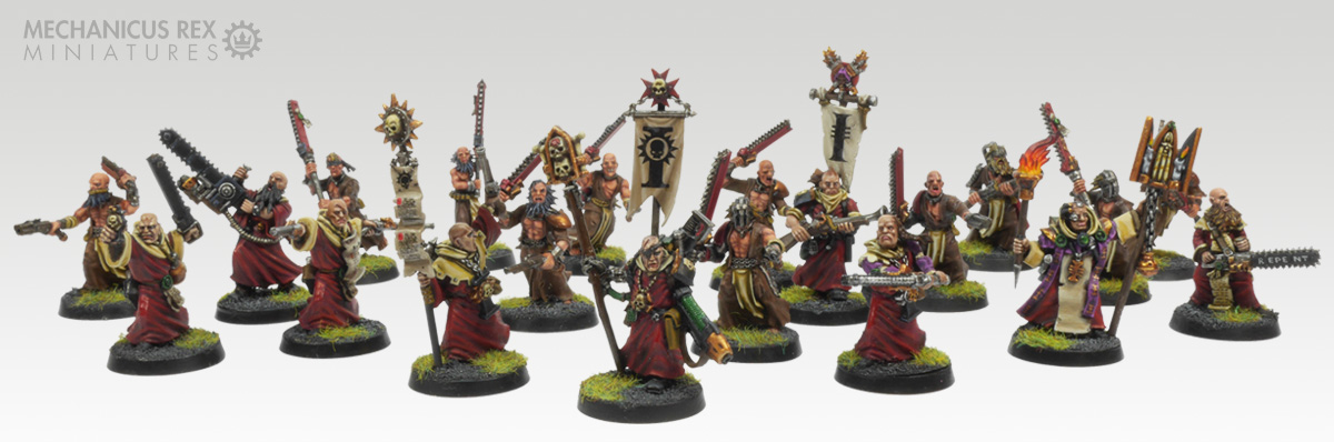 Full squad of Acolytes and Zealots