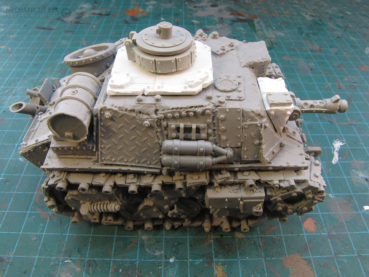 Scrap Tank with Top