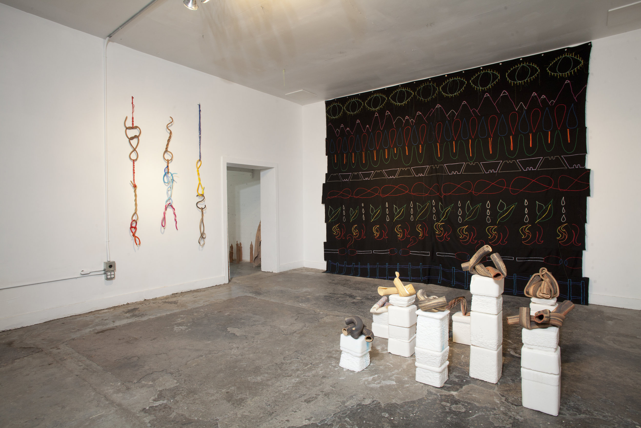brittle peace  Installation view| Photo by Josh Schaedel