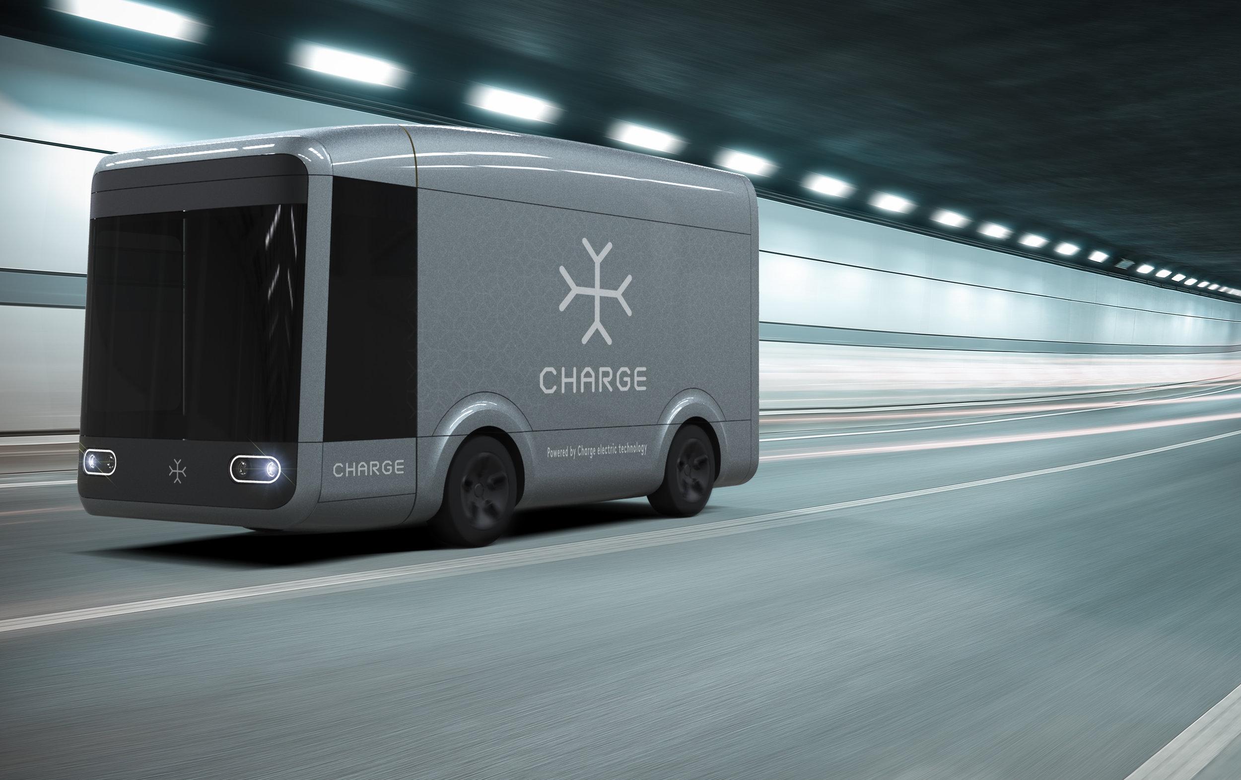 Charge's autonomous ready electric truck design