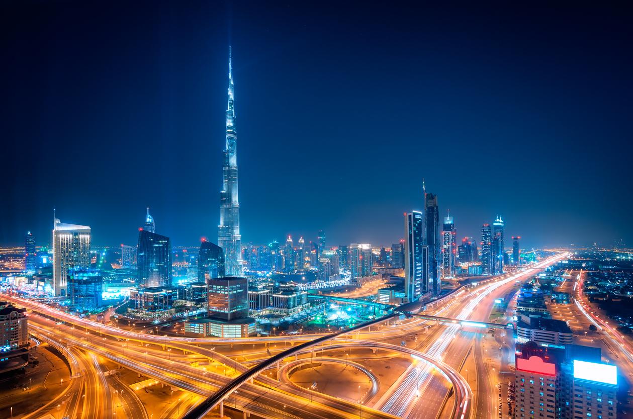 Dubai downtown skyline, Dubai, united arab emirates