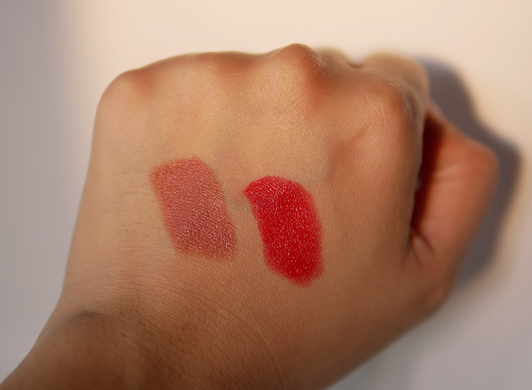 LIPSTICK CASHMERE warna No.101/Pouty dan No.103/Legend.
