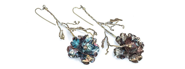 LITANY SHRUB DANGLES EARRINGS