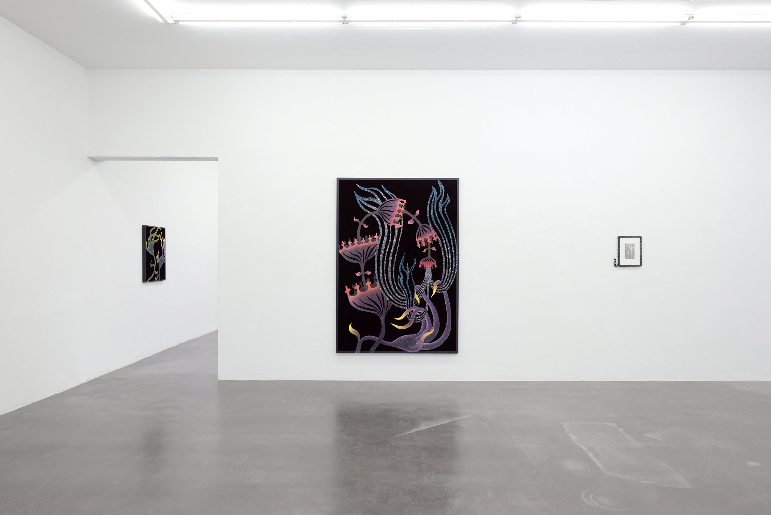 """Installation-view  of """"Eden"""" at  KUK-Cologne Gallery"""