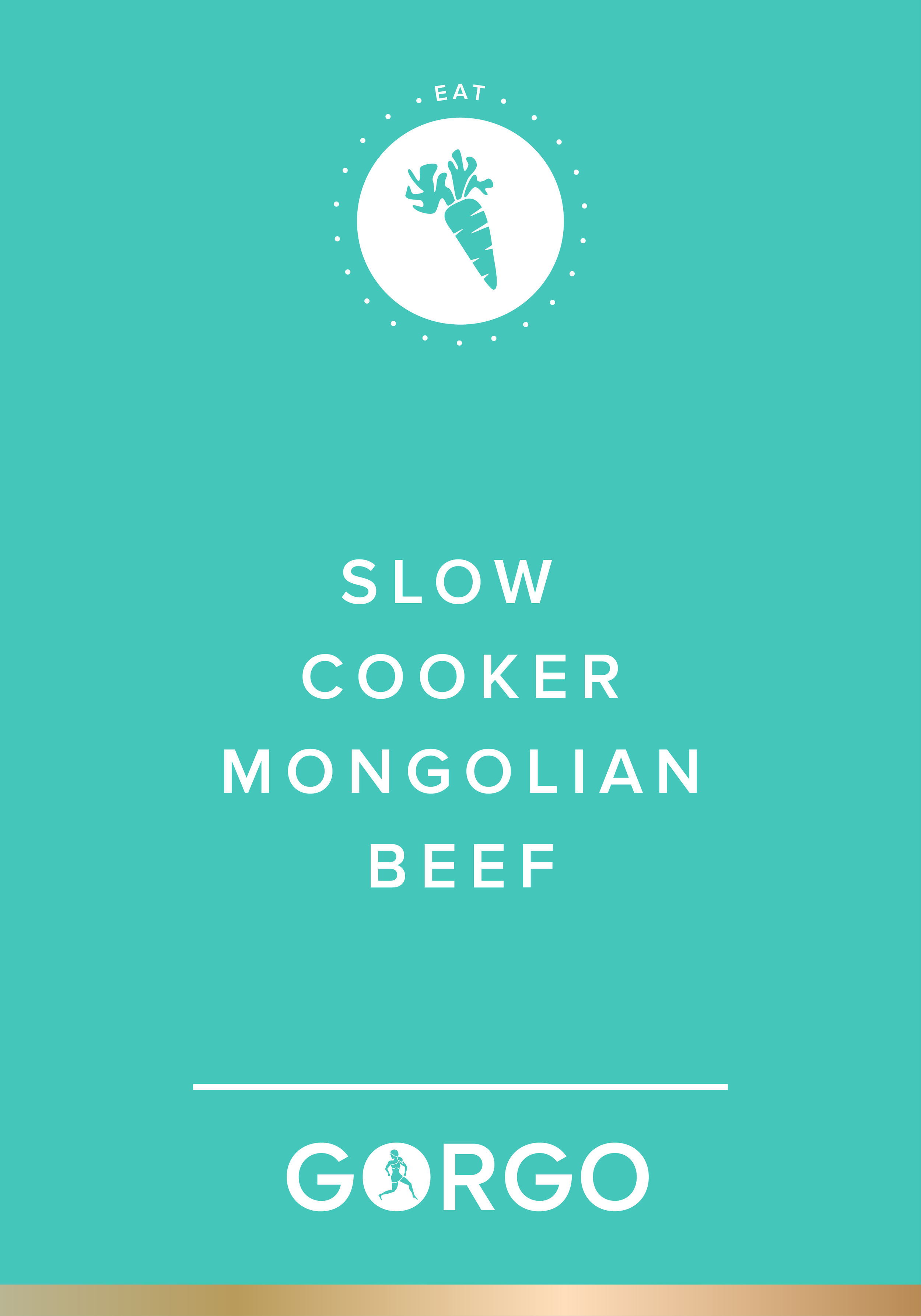 Slow Cooker Mongolian Beef #gorgogirl