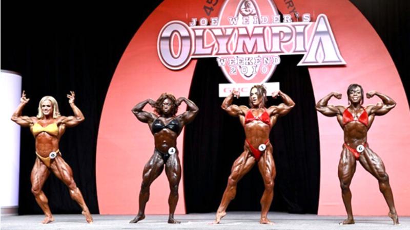 Bodybuilding Competitors Today