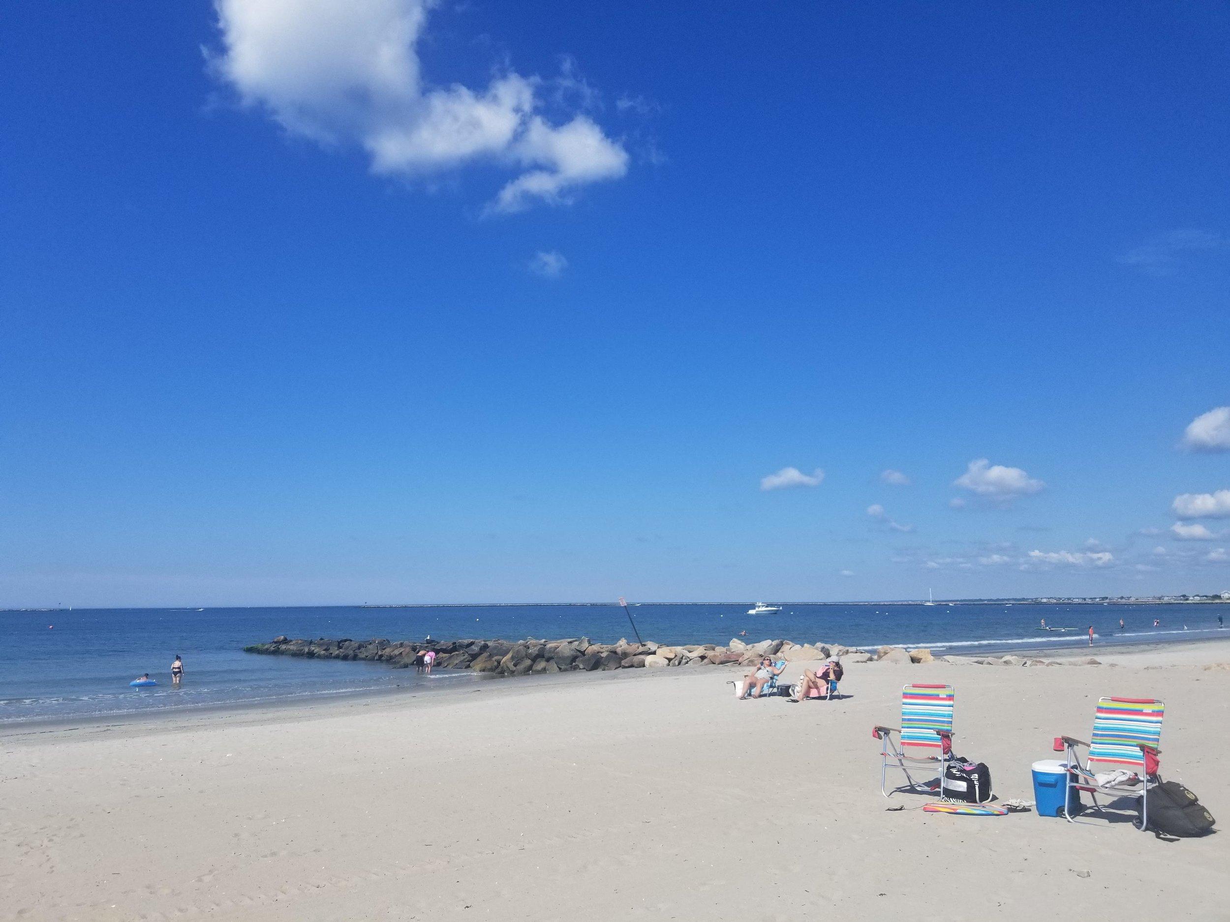 Roger Wheeler Beach in South Kingstown, Rhode Island