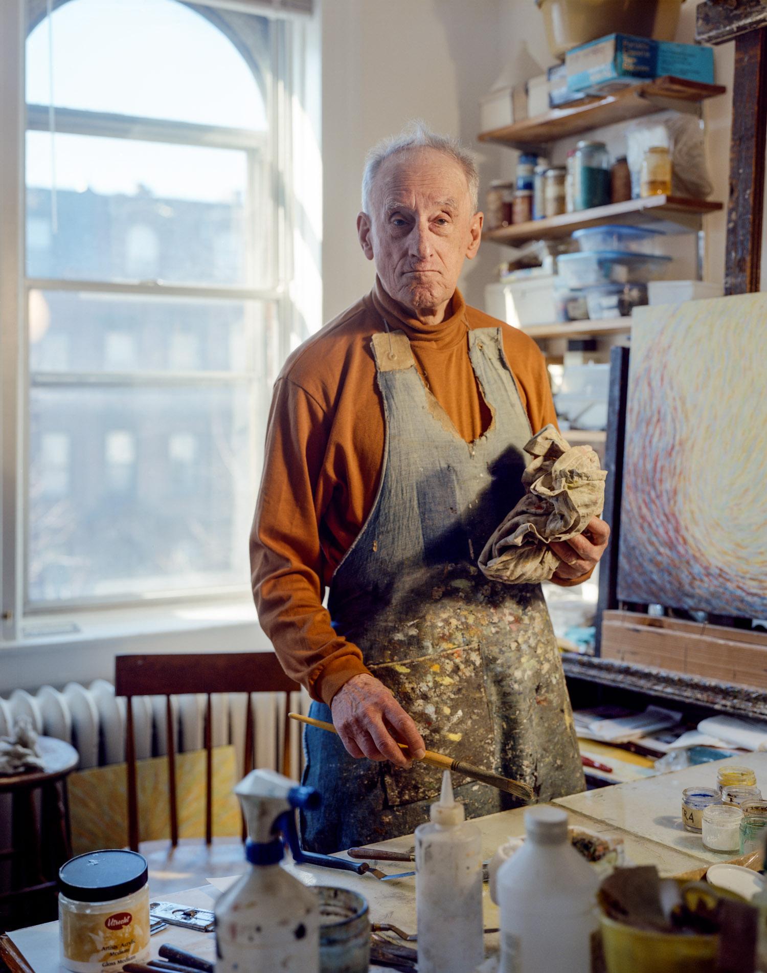 Fred Terna, Studio, Brooklyn, 2012, Pigment print