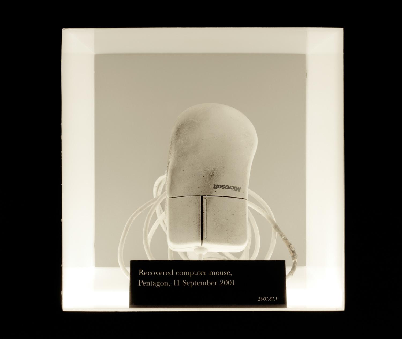 """9/11 Pentagon Mouse, Quantico, VA , 2009, Pigment print, 30"""" x 30"""""""