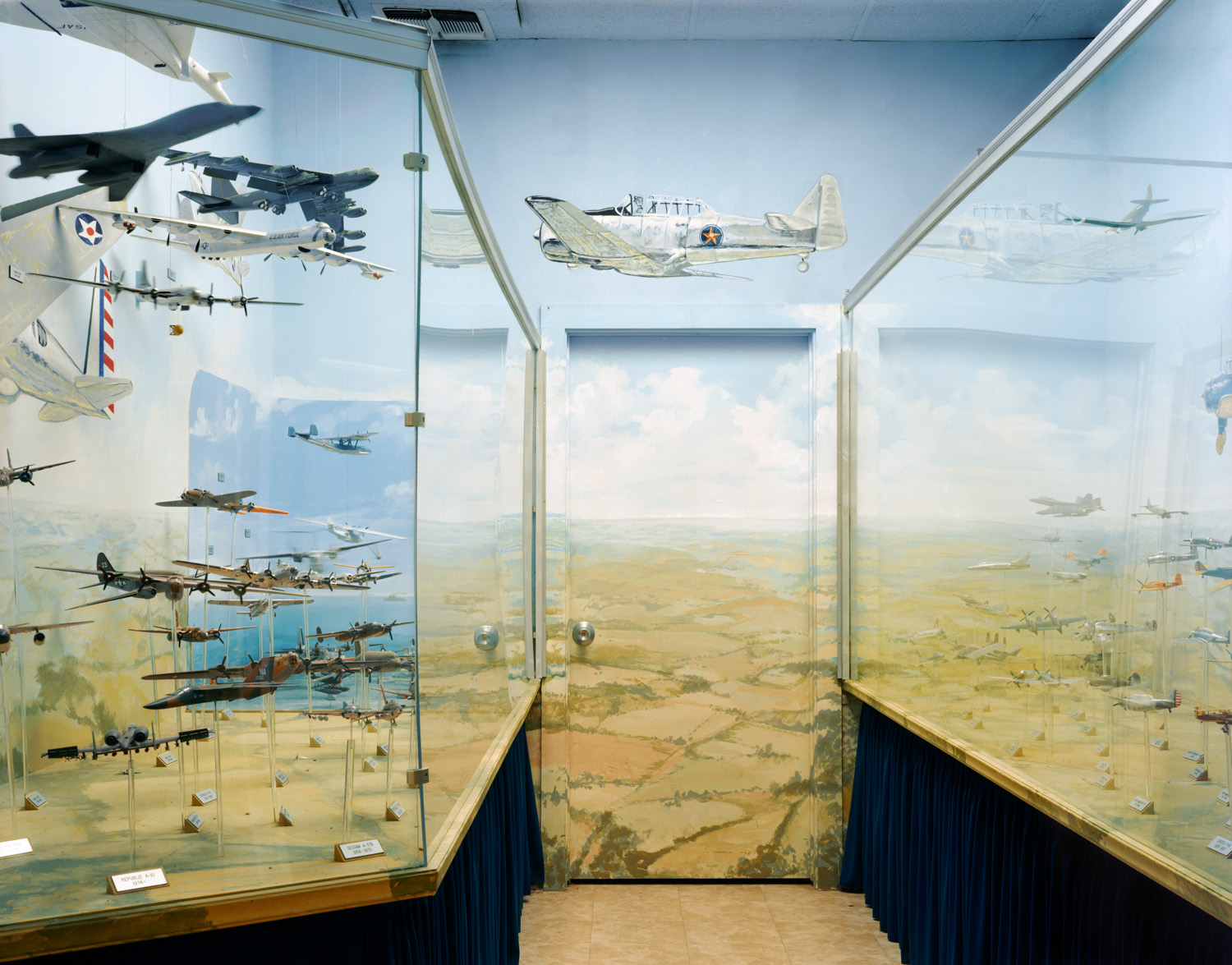 "Hall of Heroes, National Aviation Museum, Pensacola, FL , 2008, Pigment print, 20"" x 30"""