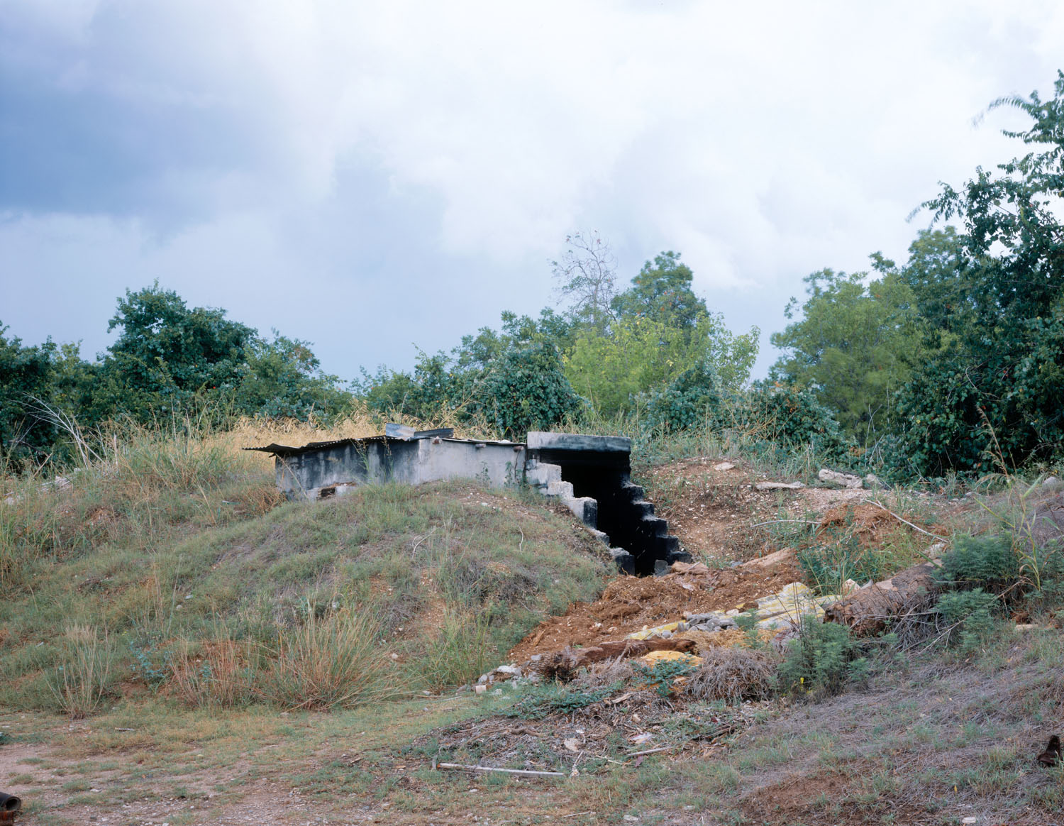 "Bunker, National Museum of the Pacific War, Fredericksburg, TX , 2008, Pigment print, 30"" x 40"""
