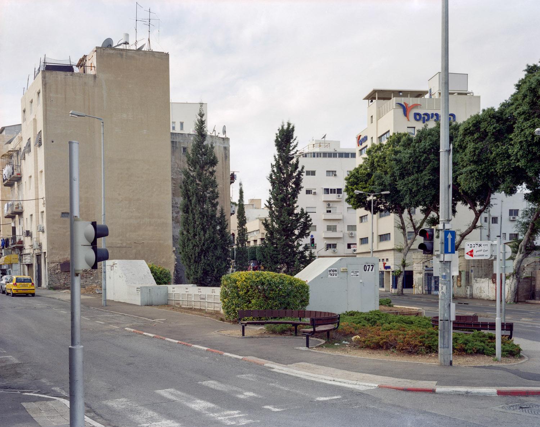 "Shelter #77, Haifa, Israel, 2007, Pigment print, 40"" x 50"""