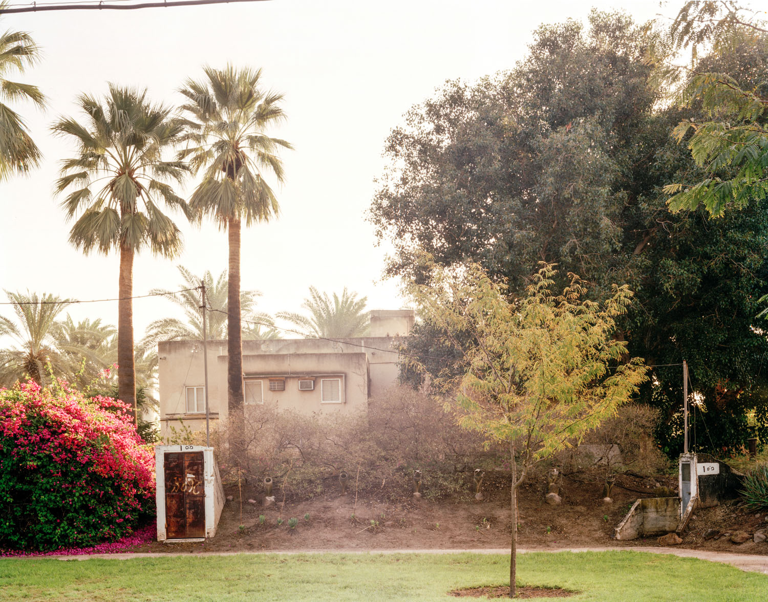 "Shelter #100, Kibbutz Deganya Bet, Northern Israel,  2007, Chromogenic print, 20"" x 30"""