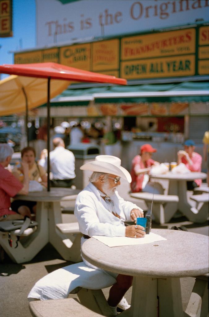 Nathan's Hot Dogs,  Coney Island, Brooklyn, NY , 2010, Pigment print