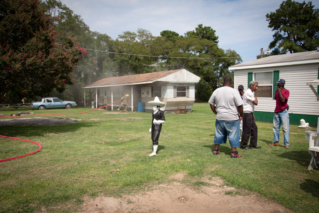 House Fire, Maryland , 2010, Pigment print