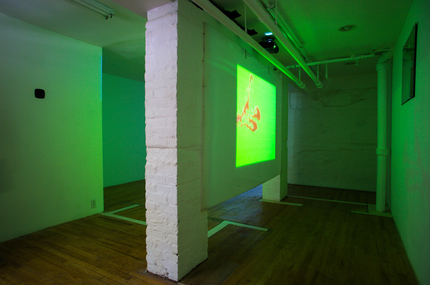 Tom Morrill and Rebecca Naegele,  No Angle of Attack , exhibition view, 321 Gallery, June 2015