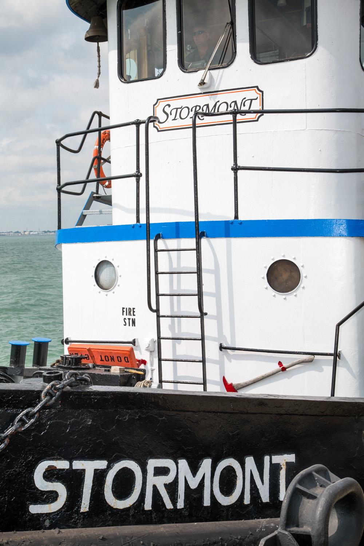 "Ferry to Canada, Detroit, MI , 2015, Pigment print,23.25"" x 15.5"""