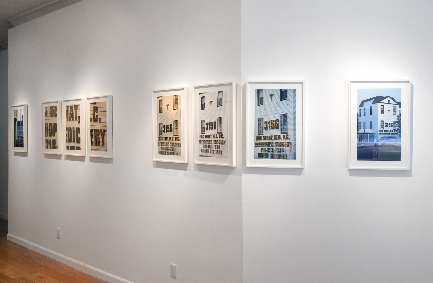 From Several Angles Over Several Days , Exhibition view, Baxter St. at CCNY, 2015