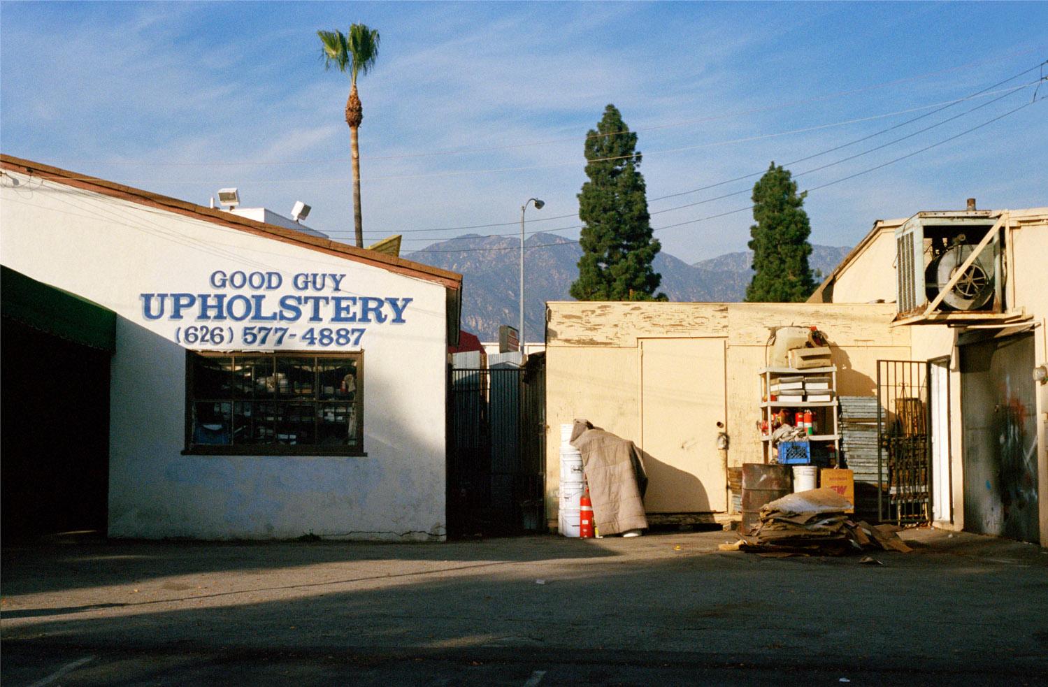 Good Guy Upholstery, Los Angeles, CA , 2009, Pigment print