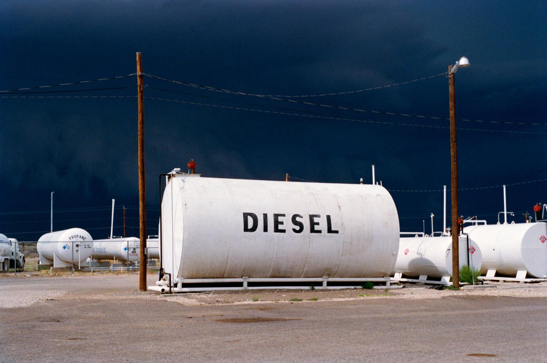Hailstorm, West Texas , 2010, Pigment print