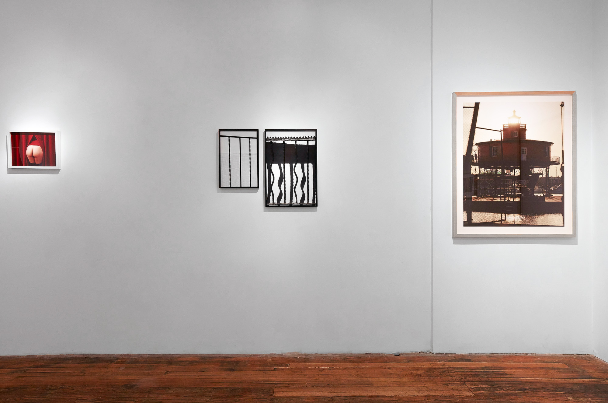 Bedstuy Gates  in  High Summer,  Exhibition view, Foley Gallery, NY, 2016